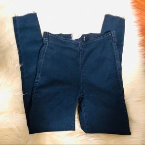 Free People high rise skinny jeans! Size 25